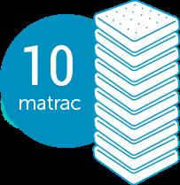 10 matrac