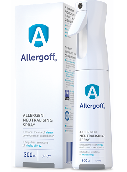 Allergoff - spray packshot