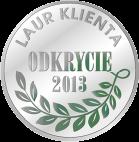 ODKRYCIE 2013 Laur klienta